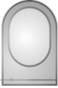 зеркало в ванную комнату. Модель КН-2-2(2.0)