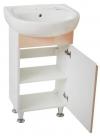 Мебель для ванной. Модель Валенсия бежевая с умывальником Solo 40 , Solo 50 (Kolo) . Серия Валенсия