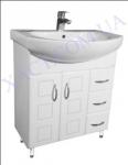 Мебель для ванной. Модель: Т-15 (2.3) Лотос 70. Серия Генуя