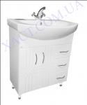 Мебель для ванной. Модель: Т-8 (2.3) Лотос 70. Серия Турин