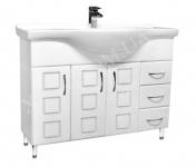 Мебель для ванной. Модель: Т-15 (3.3) Coco 105. Серия Генуя