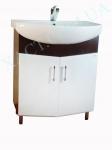 Мебель для ванной.  Модель: Т-9 (2.0) лотос 70 венге зодиак