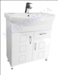 Мебель для ванной. Модель: Т-15 (2.1) лотос 70. Серия Генуя