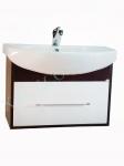 Мебель для ванной.  Модель: Т-9 (0.1) лотос 70 венге ( навесная)