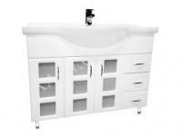 Мебель для ванной . Модель: Т-15с (3.3) Coco 105. Серия Кориниум