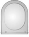 зеркало в ванную комнату. Модель КН-2(2.0)