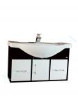 Мебель для ванной. Модель: Т-9 (1.2) венге Либро 80 ( навесная)
