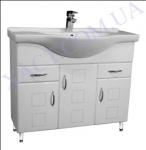 Мебель для ванной. Модель: Т-15 (3.2) Coco 85.  Серия Генуя