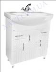 Мебель для ванной. Модель: Т-8 (3.2) Лотос 70. Серия Турин