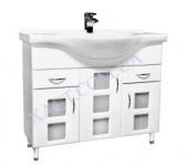 Мебель для ванной . Модель: Т-15с (3.2) Coco 85. Серия Кориниум
